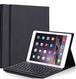 iPad 9.7 キーボードケース Smart Plus 脱着式Bluetooth キーボードカバー スタンド機能付き iPad 9.7/iPad Pro 9.7/iPad Air/iPad Air2対応 iPad9.7インチ通用カバー 【最新改良版】 (ブラック)