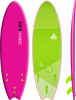 Storm Blade 6ft Swallow Tail Surfboard / Pink
