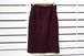VINTAGE Red x Black tweed skirt