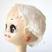 フランス製アンティーク刺繍ボンネット