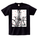 H/A BICYCLE STAR PHOTO T-SHIRTS BLACK