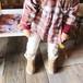 pony go round btn short boots 19~21cm