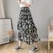 【bottoms】今季マストバイスウィートプリント花柄ハイウエスト2色スカート M-0357