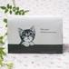猫 障害者手帳カバー(東京都サイズ) アメリカンショートヘア イラスト A