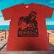 掟ポルシェTシャツ(怖い方・赤) OK-TRE002GT