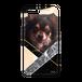 iPhone・Android Mサイズ 大理石ハードケース color:ベージュ