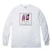 Long Sleeve T-shirt(Desinged by Nah) [ホワイト]