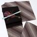 1750 未使用◆斜め縞ドット柄小紋