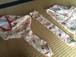【袋4点セット】正絹三味線長袋+三つ折り袋【アンティーク桜模様】