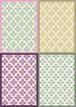 ■リリース記念4種類set A4用紙 069-072【flower-wall】5枚×4種 1500円/不動の一番人気