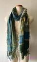 手織りストール シルク Si-008