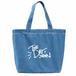 デニムトートバック(HIGE Logo/ヒゲロゴ)ライトブルー/Light Blue