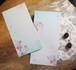 桜の封筒B(古染め箋)