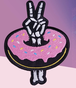 """Data CREW""""I'LL TAKE TWO DONUTS PATCH"""""""