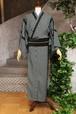 JUNKO KOSHINO浴衣 メンズ ポリエステル(セオα) 洗える 仕立上がり 隼№54 2020