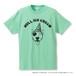 "BULL TERRIER ICE Tシャツ ""メロン"""