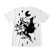 フルグラフィックTシャツ BLACK CAT ホワイト