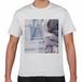 「パラレル」Tシャツ 白