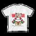 <白Tシャツ 正面>かがみーちゃん餅