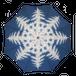 クリスマスクリスタル(アート傘)雨晴兼用傘60cm