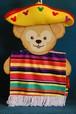 USA限定 Duffy ダッフィー用コスチューム メキシコ