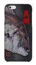 魚拓スマホケース【真鯛(マダイ)・ハードケース・背景:黒・送料無料】