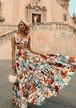 【送料無料】2ピースセット ワンピース セットアップ ビスチェ ロングスカート リゾートワンピ マキシ 花柄 フラワー トップ 大きいサイズ