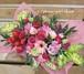 【送料無料】【生花アレンジ】ハートありがとうピック付季節のお花のお花畑フラワーアレンジメント FL-MD-202