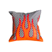 Flame Pillow Blue