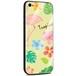 Jenny Desse iPhone X ケース カバー 背面強化ガラスケース  背面ガラスフィルム シリコンハイブリッドケース 対応 sim free 対応 トロピカル・イエロー(黄色)