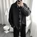 ゴスロリ シャツ ネクタイ付 病み可愛い ユニセックス モード系 黒コーデ 原宿系 10代 20代