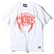 "RUDIE'S / ルーディーズ | 【特価 SALE!!!】 "" TUSK TEE "" - WHITE/ORANGE"