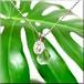 天然石*レムリアン水晶と不思議のメダイのネックレス*ティアドロップA