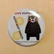 """""""Kumamon"""" Button Badge (A)"""