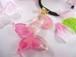 桜の蝶が舞う春を告げるヘアゴム