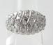 【SOLD OUT】0.50ⅽt パヴェダイヤモンド ハーフエタニティ パヴェリング プラチナ ~0.50ⅽt Pave Diamond Half Eternity Pave Ring Platinum~