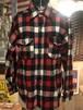 70s ビンテージ  sears ウールシャツ wool USA製 アメリカ
