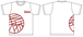 未来茶レコードTシャツ(白)