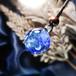 天の川に金魚が泳ぐの宇宙ペンダント/【わけあり試作品】00622-1