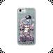 #016-025 iPhone8対応 セクシー系・ロック系 《ラミア》 グリッタースマホケース (iPhoneシリーズのみ対応)  作:nero