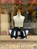 KIDS:frankygrow【フランキーグロウ】ORIG.CHECK RHOMBOS SHORT PANTS(ホワイト×ブラック/S:90cm,M:110cm,L:130cm)オリジナルチェックひし形ショートパンツ