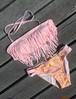 Fringe bandeau bikini~エスニック~