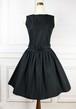 Flare Black Dress
