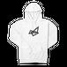 Sapsan・logo white hoodie Parker 4size