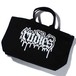 RUDIE'S / ルーディーズ | MELT SPARK ZIP TOTEBAG : BLACK