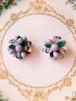 Travelling Madeleine - purple earring