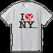 I LOVE NY  野間四ツ角Tシャツ(ホワイト)