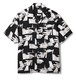 FTC(エフティーシー) / LIPS RAYON SHIRT -BLACK-
