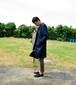 ワークコート(藍染×黒染/藍染)