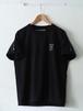 FUJITOSKATEBOARDING Print T-Shirt  Mark ver. Black,White